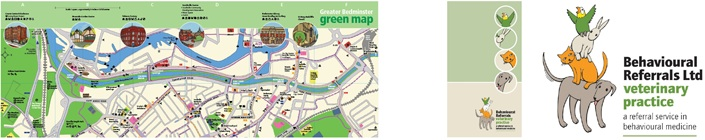 Greater Bedminster green map